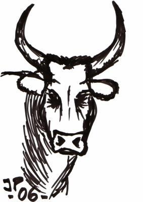 Pin dessin tete taureau tribal imprimer cars monster energy on pinterest - Dessin tete taureau ...