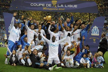 Om champion de la coupe de la ligue 2011 olympique de marseille - Coupe de la ligue om toulouse ...